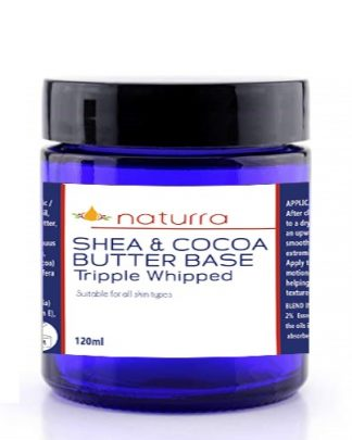 Shea & Cocoa Butter Base - All Natural Triple-whipped 120ml