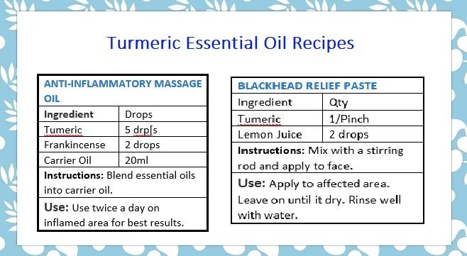 Introducing - Turmeric Essential Oil