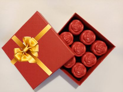 Valentine Special - Red Roses Soy Wax Melts Box