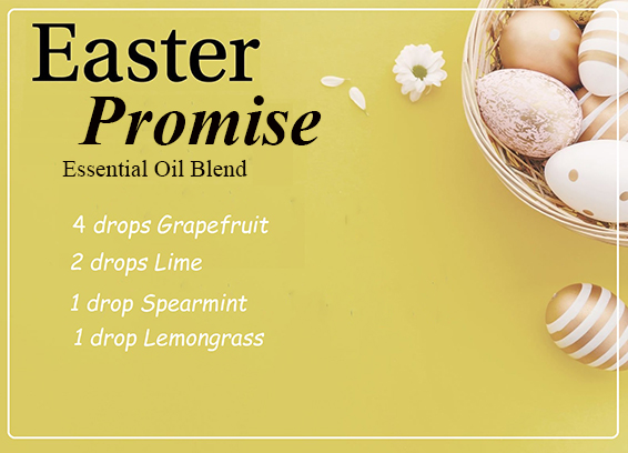 Easter Promise Essential Oil Blend - Capture and recall